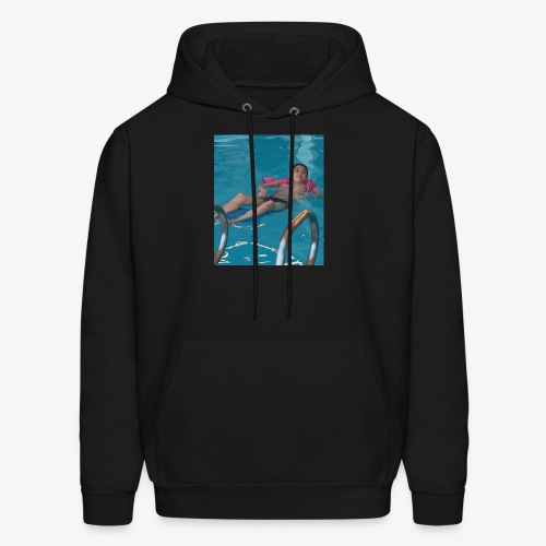Chigga in a pool yo - Men's Hoodie