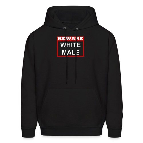 WHITE MALE SHIRT - Men's Hoodie