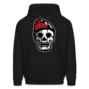 Custom Skull With Ice Cap Merch! - Men's Hoodie
