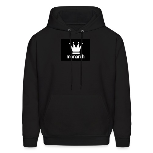 monarch with logo - Men's Hoodie