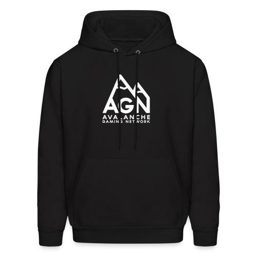AGN White Logo Hoodie - Men's Hoodie
