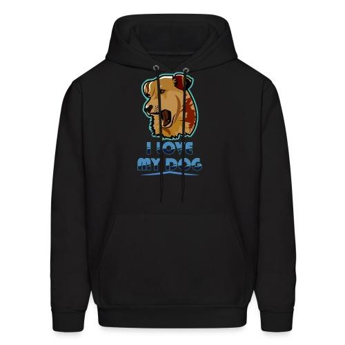 new T-shirt dog - Men's Hoodie