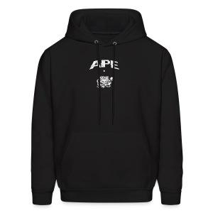 The_Two_Wheeled_Ape_Full_Throttle - Men's Hoodie