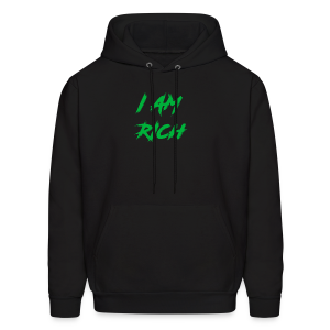 I AM RICH (WASTE YOUR MONEY) - Men's Hoodie