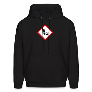 danger for the environment - Men's Hoodie