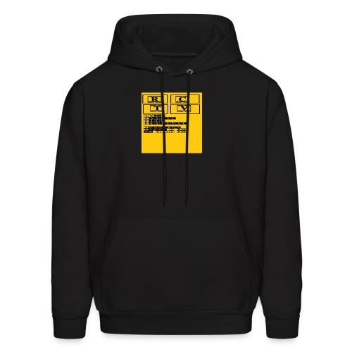 T Shirt 4 Front - Men's Hoodie