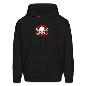 Gearhead Skull and Crossed Wrenches - Men's Hoodie