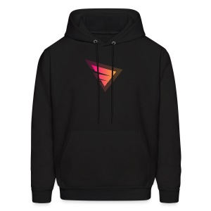 Logo IteX with another background logo - Men's Hoodie