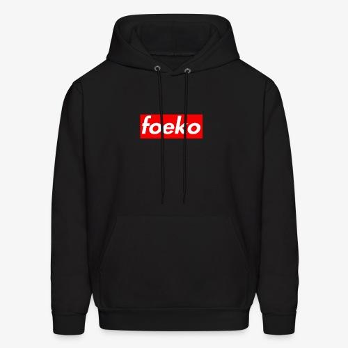 Foeko Logo Red Box - Men's Hoodie