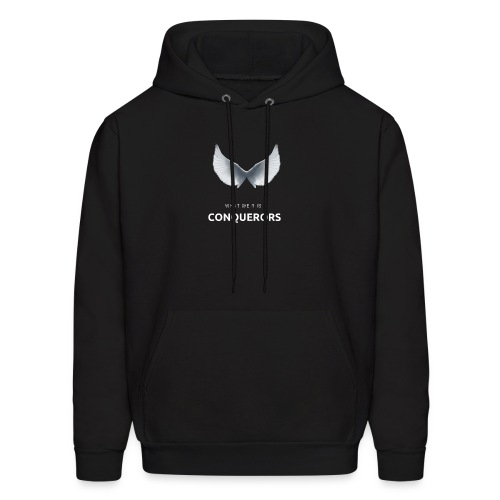 what we r is conquerors black line - Men's Hoodie