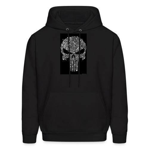 Skull wire theme - Men's Hoodie