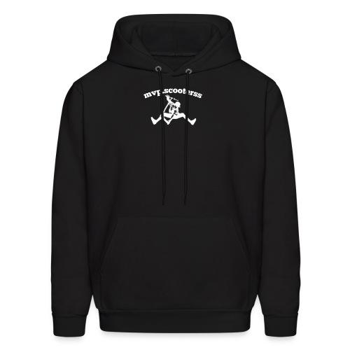 mvp scooterss white logo - Men's Hoodie