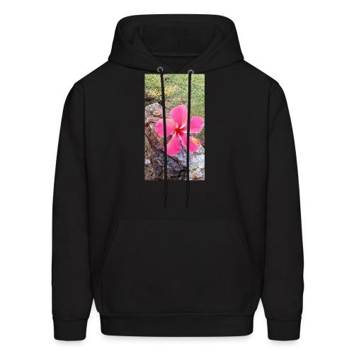 Pink Beach Flower - Men's Hoodie