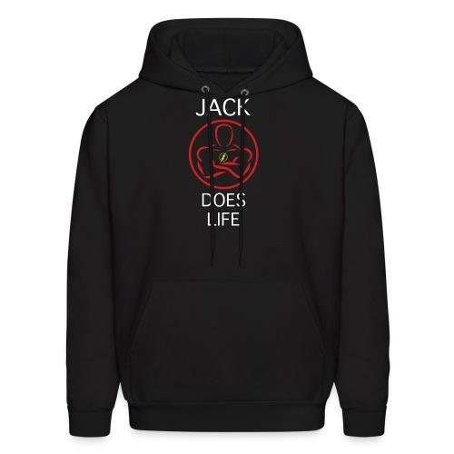 Jack Does Life Logo - Men's Hoodie