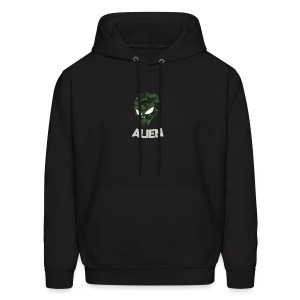 Military Alien - Men's Hoodie