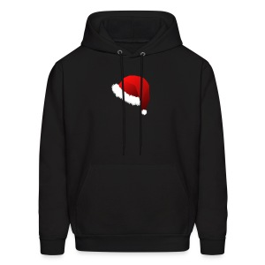 Carmaa Santa Hat Christmas Apparel - Men's Hoodie
