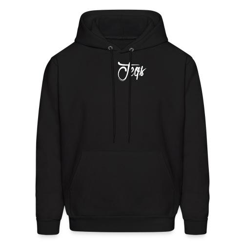 Jeqs Cursive Design - Men's Hoodie