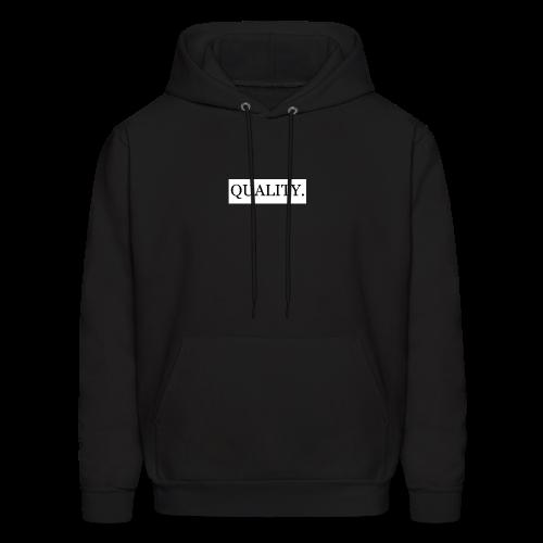 Quality Brand - Black - Men's Hoodie