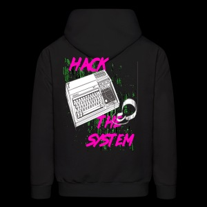 hack the system - Men's Hoodie