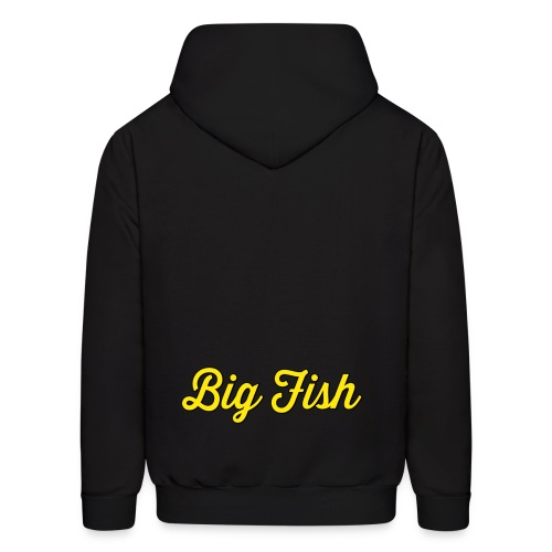 Big Fish Outlined - Men's Hoodie