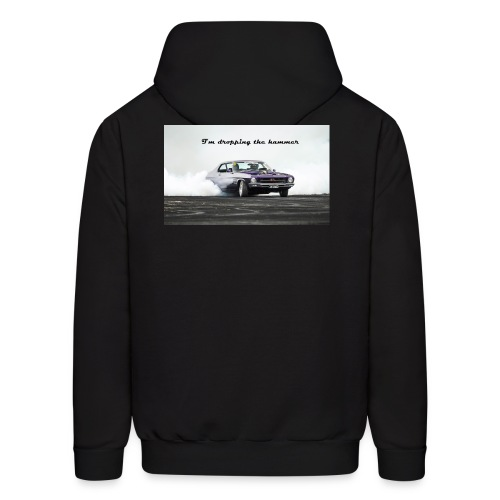 droping the hammer - Men's Hoodie