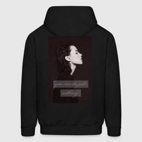 nothing - Men's Hoodie