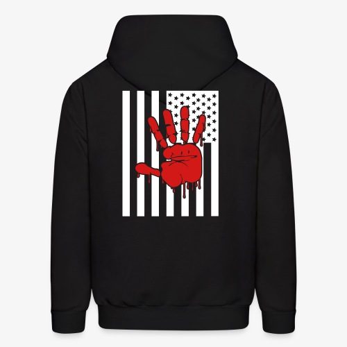 blood on our hand - Men's Hoodie
