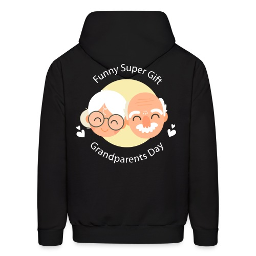 Funny Super Gift Grandparents Day T-shirt - Men's Hoodie