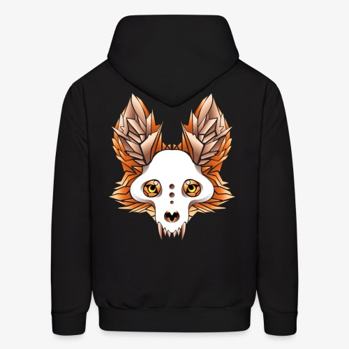 fox skull - Men's Hoodie