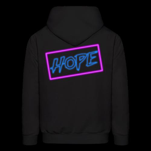 Hope neon sign - Men's Hoodie