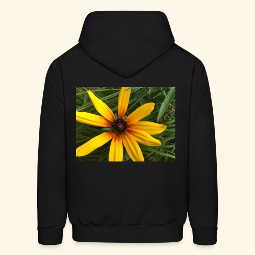 Yellow flower - Men's Hoodie