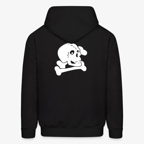 White Skull - Men's Hoodie
