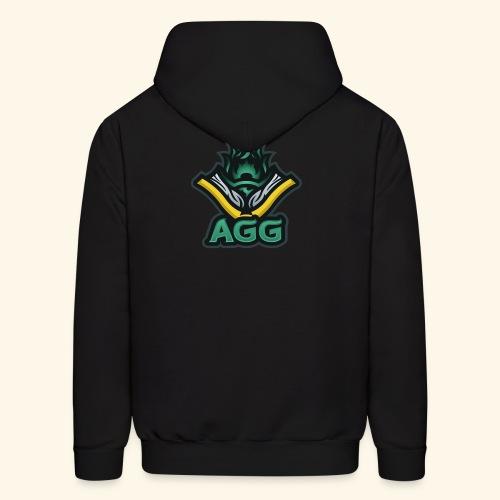 AGG Logo Text Transparent - Men's Hoodie