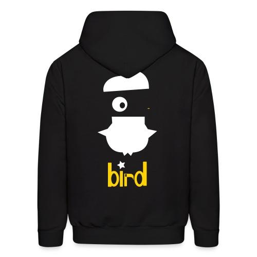 crazy bird - Men's Hoodie