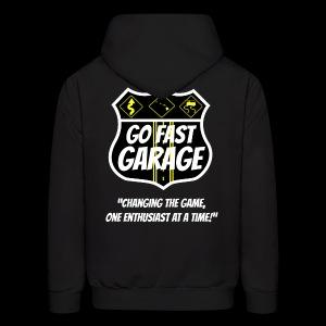 Go Fast Garage - Men's Hoodie