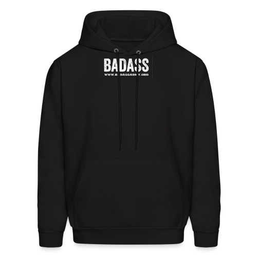 badass simple website - Men's Hoodie