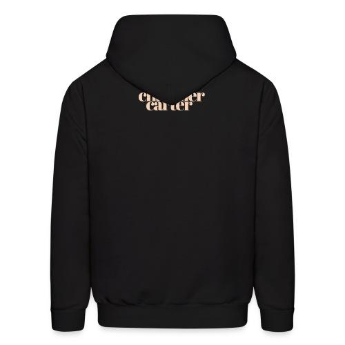 Chandler Carter Logo - Ecru - Men's Hoodie
