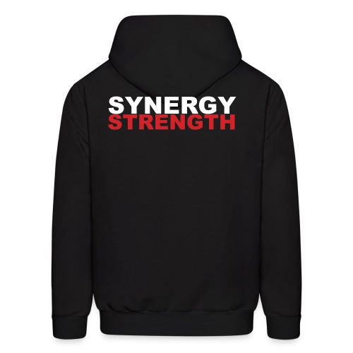 SYNERGY STRENGTH png - Men's Hoodie