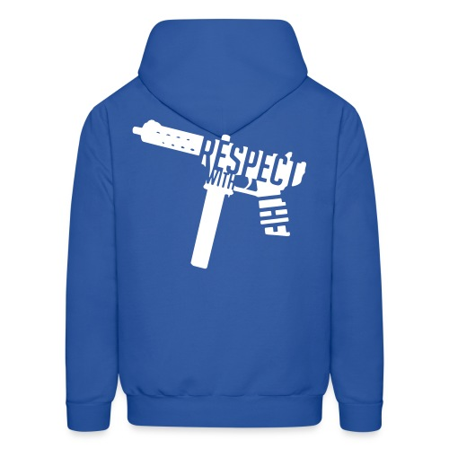 Respect With The Tech - Men's Hoodie
