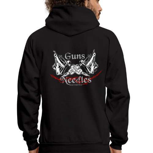 Guns & Needles - Men's Hoodie