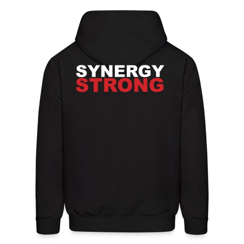 SYNERGY STRONG png - Men's Hoodie