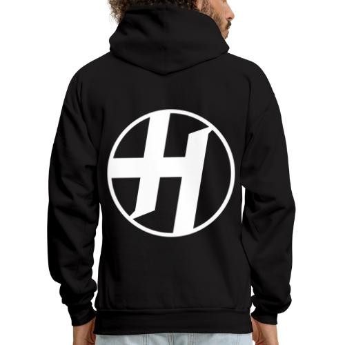 Heirs Logo White Big - Men's Hoodie