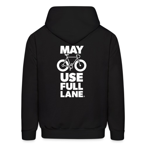 May use full lane large - Men's Hoodie