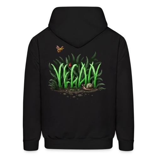 grow vegan - Men's Hoodie