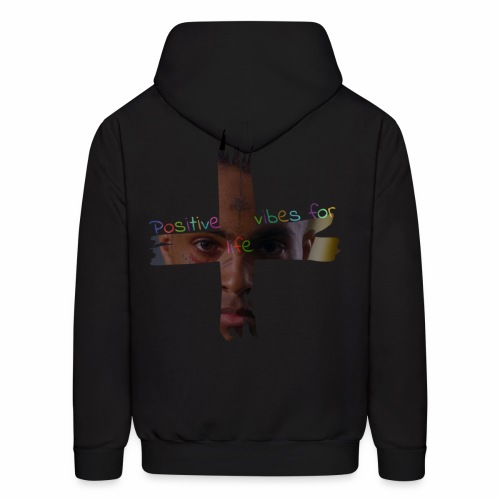 Positive vibes for life [Version X] - Men's Hoodie