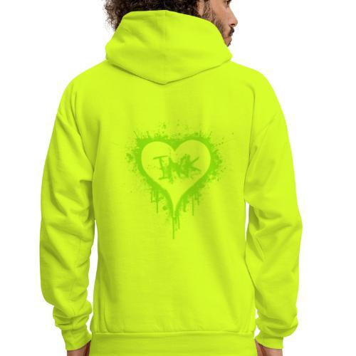 I Love Ink_green - Men's Hoodie