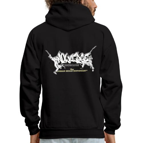 KNOWLEDGE - the urban skillz dictionary - promo sh - Men's Hoodie