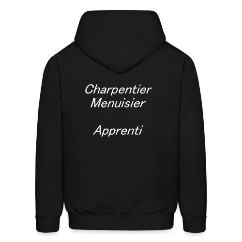 Charpentier Menuisier app - Men's Hoodie