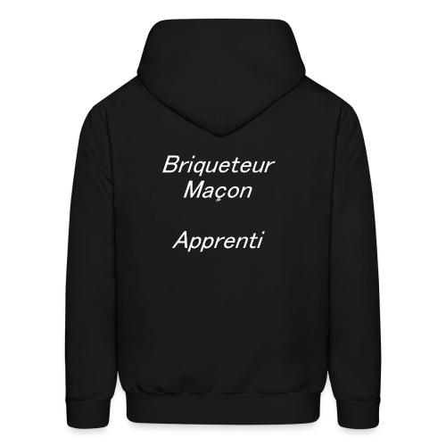 Briqueteur Maçon Apprenti - Men's Hoodie