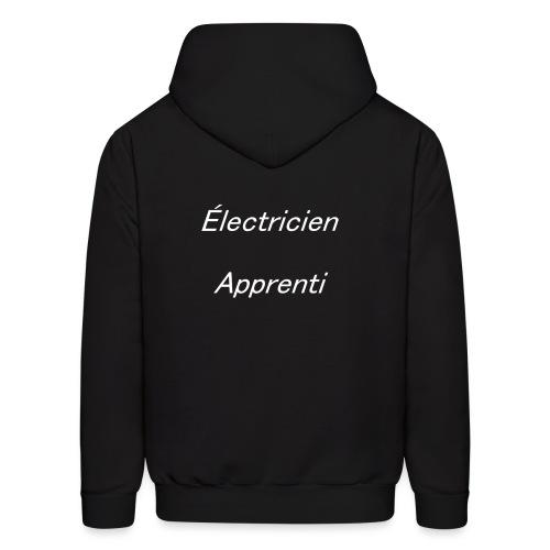 Électricien Apprenti - Men's Hoodie
